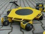 12258867 Wózek rotacyjny stały, rolki: 15x nylon (nośność: 5 T)