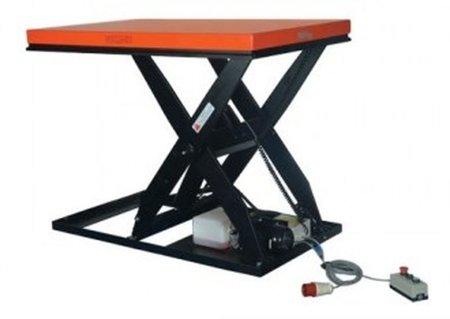 DOSTAWA GRATIS! 00546295 Podest elektryczny (udźwig: 1000 kg, wymiary platformy: 1300x800 mm, wysokość podnoszenia min/max: 190-1010 mm)