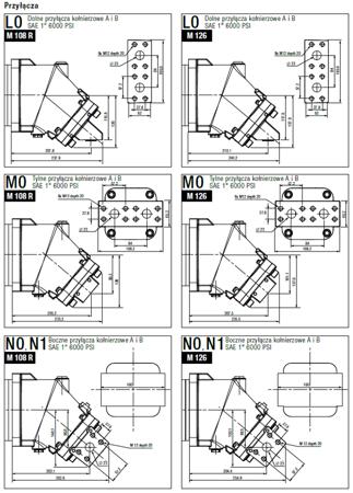 DOSTAWA GRATIS! 01538903 Silnik hydrauliczny tłoczkowy Hydro Leduc (objętość robocza: 108,3 cm³, maksymalna prędkość ciągła: 4000 min-1 /obr/min)