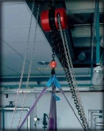 DOSTAWA GRATIS! 2202693 Wciągnik łańcuchowy z przekładnią planetarną Z100/1.0t (wysokość podnoszenia: 3m, udźwig: 1 T)