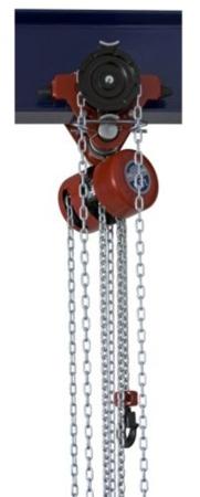 DOSTAWA GRATIS! 22048212 Wciągnik łańcuchowy przejezdny z ręcznym napędem - wersja przeciwwybuchowa (wysokość podnoszenia: 3m, udźwig: 0,5 T)