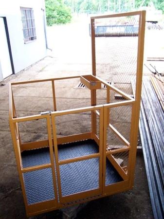 DOSTAWA GRATIS! 2903587 Platforma robocza PR80 dla 2 osób (wymiary: 800 x 1200 x 1800 mm)