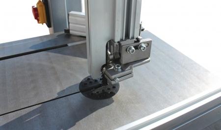 DOSTAWA GRATIS! 44349938 Piła taśmowa Holzmann (wymiary obrabianego przedmiotu: 305/165 mm, wymiary blatu: 500x400 mm)