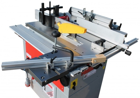 DOSTAWA GRATIS! 44349969 Urządzenie wielofunkcyjne Holzmann 230V (szerokość/wysokość obróbki: 245/5-195 mm, długość blatu: 1090 mm)