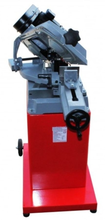 DOSTAWA GRATIS! 44350084 Piła taśmowa do cięcia metalu Holzmann 400V (zakres cięcia: -45° bis +60°, prędkość cięcia: 23/34/54 m/min, moc: 825 W)
