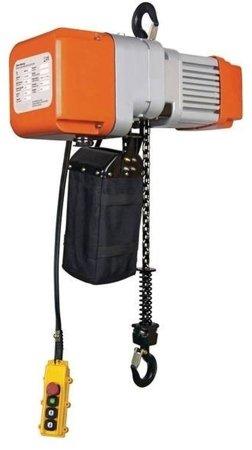 DOSTAWA GRATIS! 44367728 Wciągarka elektryczna łańcuchowa (udźwig: 500 kg, maks. wys. podnoszenia: 6m)