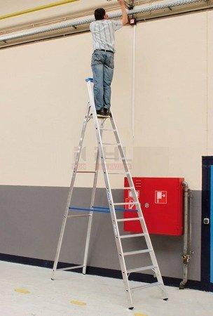 DOSTAWA GRATIS! 99674998 Drabina wolnostojąca KRAUSE Stabilo 1x6 (wysokość robocza: 3,40m)