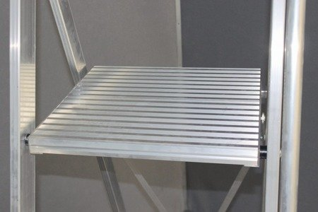 DOSTAWA GRATIS! 99675012 Drabina magazynowa KRAUSE Stabilo z dużym podestem (wysokość robocza: 3,90m)