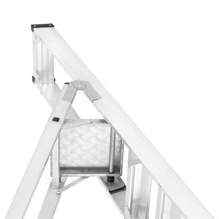 DOSTAWA GRATIS! 99675093 Drabina montażowa jednostronna ALOSS (wysokość robocza: 2,64m)