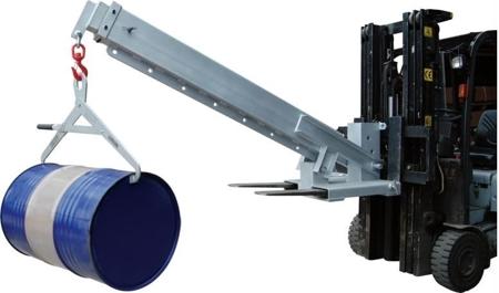 Hydrauliczny wózek do beczek (udźwig: 596-3000 kg) 31046317