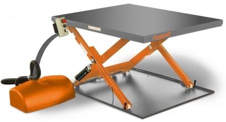 Kompaktowy stół niskiego podnoszenia Unicraft (udźwig: 1000 kg, wymiary platformy: 1450x1140 mm, wysokość podnoszenia min/max: 80/760 mm) 32240152