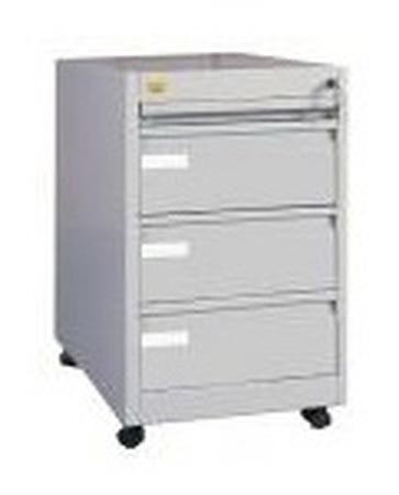 Kontenerek przybiurkowy, 4 szuflady (wymiary: 690x440x600 mm) 77157078