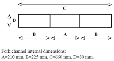 SWARK Kosz roboczy do wózka widłowego GermanTech (wymiary: 1200x800 mm) 99724903