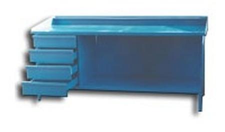Stół ślusarski, 4 szuflady (wymiary: 2000x800x900 mm) 77156873