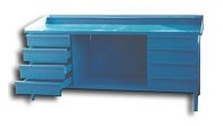Stół ślusarski, 8 szuflad (wymiary: 2000x800x900 mm 77156875