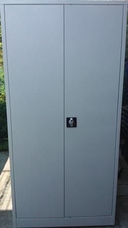 Szafa biurowa, 2 drzwi, 4 półki regulowane (wymiary: 2000x1600x600 mm) 77157073