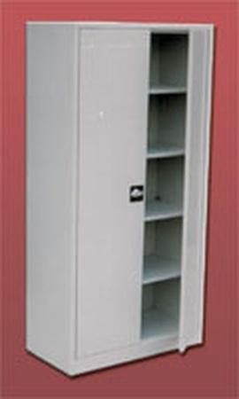 Szafa biurowa, 2 drzwi, 4 półki regulowane (wymiary: 2000x800x460 mm) 77157057