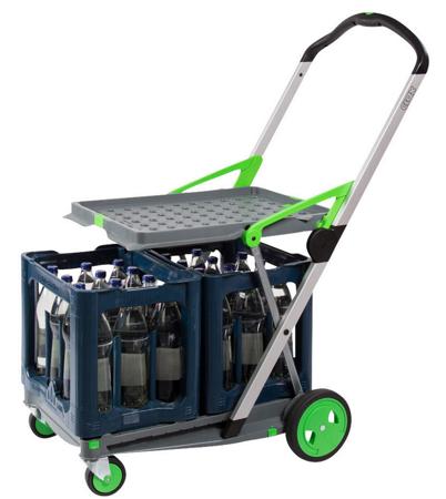 Wózek do transportu, składany + pudełko GermanTech (udźwig: 60 kg) 99746706