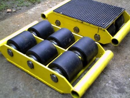Wózek stały 6 rolkowy, rolki: 6x kompozyt (nośność: 12 T) 12235593