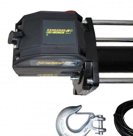 Wyciągarka elektryczna 24V, bez liny stalowej, z prowadnicą rolkową (uciąg: 8163 kg) 44476409