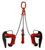 IMPROWEGLE Zawiesie łańcuchowe 3-cięgnowe zakończone uchwytami do podnoszenia kręgów betonowych GDA 2,1 (udźwig: 2,1 T, zakres chwytania: 40-120 mm) 3398555